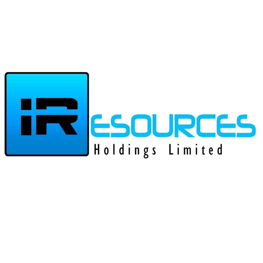 Inscrição nº 281 do Concurso para Logo Design for iResources Holdings Limited