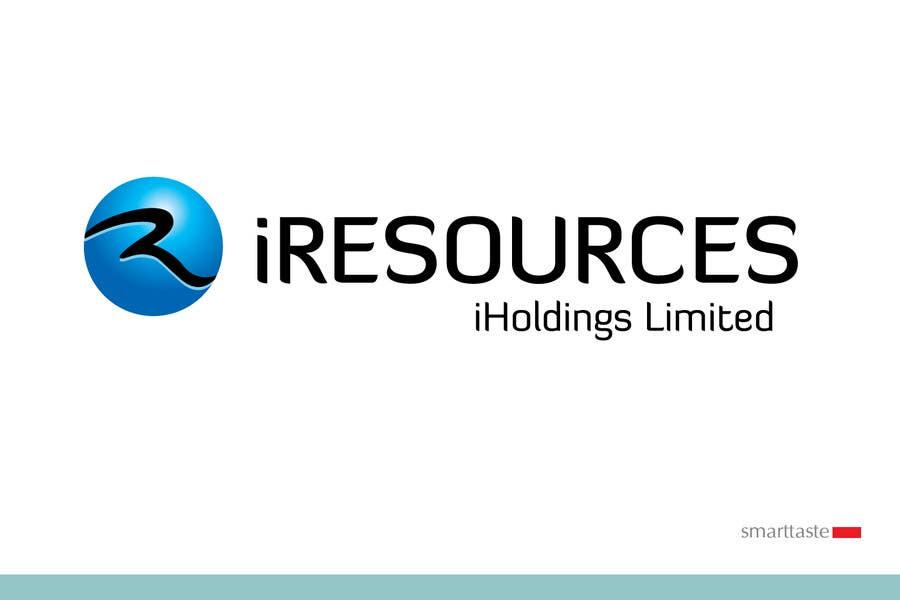 Inscrição nº 199 do Concurso para Logo Design for iResources Holdings Limited