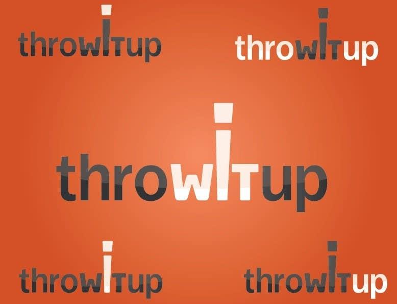 Penyertaan Peraduan #14 untuk Logo Design for ThrowItUp.org