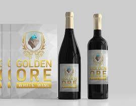 #802 for Golden Ore Wine Label af nozrulislam2020
