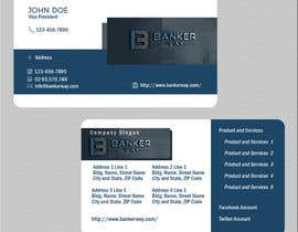 #13 for Design some Business Cards for Banker Way by tlacandalo