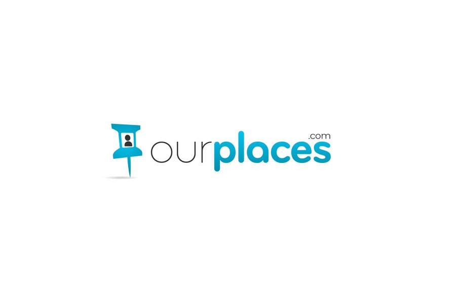 Bài tham dự cuộc thi #85 cho Logo Customizing for Web startup. Ourplaces Inc.