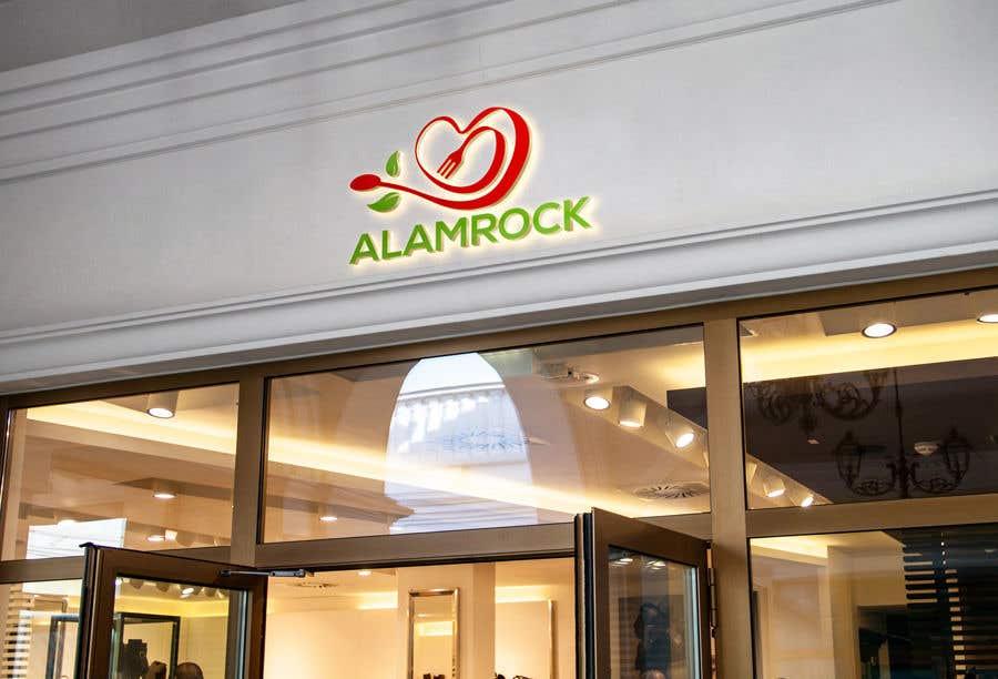 """Intrarea #                                        127                                      pentru concursul """"                                        Logo for my business - Alamrock                                     """""""
