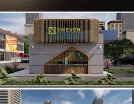 #111 para Design 3d drive-thru coffeeshop por ghannitp