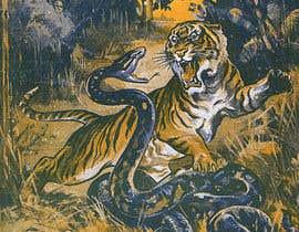 #12 для Tiger fight от muaazbintahir