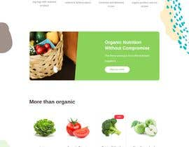 #33 untuk Home page for online bio organic shop oleh EmonDev