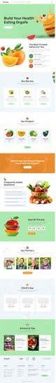 Imej kecil Penyertaan Peraduan #                                                38                                              untuk                                                 Home page for online bio organic shop