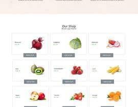 #32 untuk Home page for online bio organic shop oleh shobnummustary