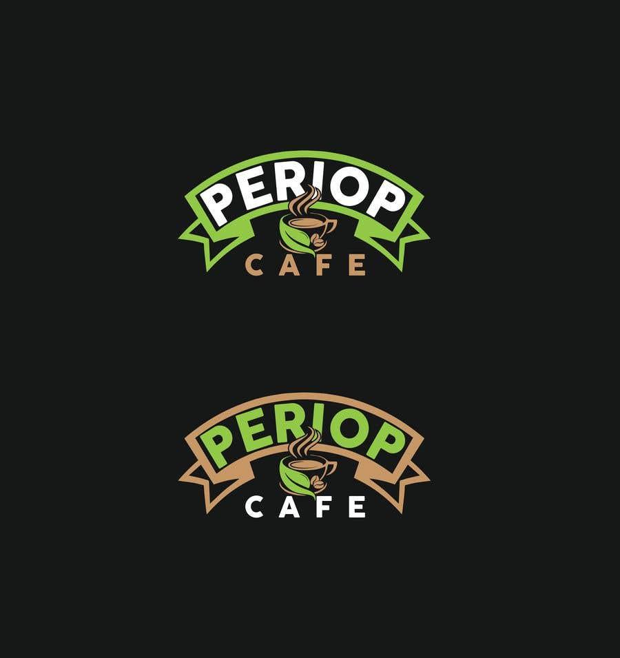 Конкурсная заявка №                                        1674                                      для                                         Periop Cafe logo design