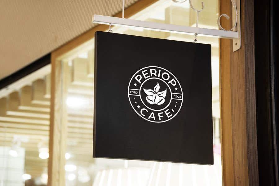 Конкурсная заявка №                                        2002                                      для                                         Periop Cafe logo design