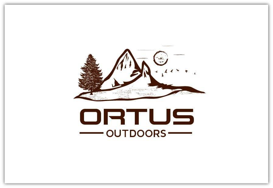 Kilpailutyö #                                        412                                      kilpailussa                                         Ortus Outdoors Logo