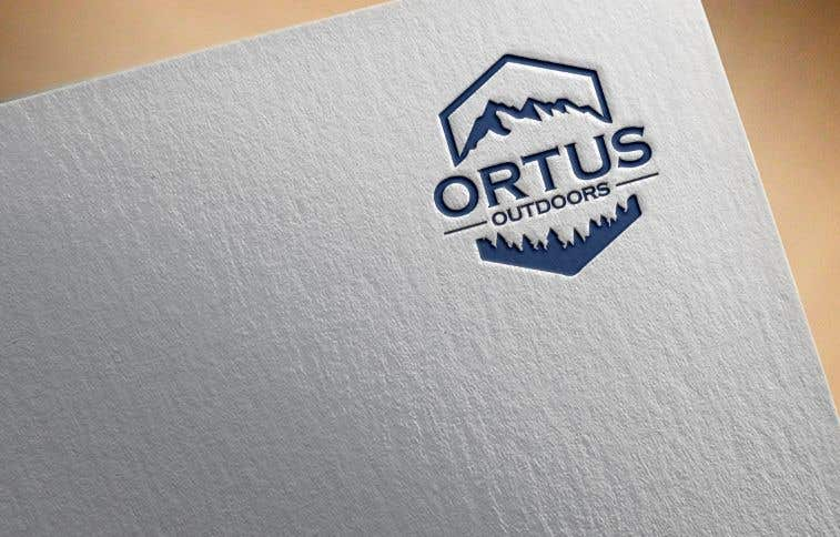 Kilpailutyö #                                        396                                      kilpailussa                                         Ortus Outdoors Logo
