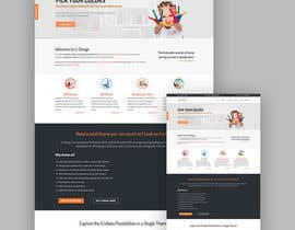 #113 untuk Create a website layout for LEADSPRO.IO oleh mdeleas44