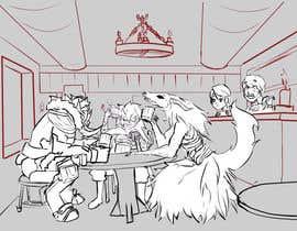 Nro 14 kilpailuun i need a drawing of my favorite characters together käyttäjältä RashidRidha97