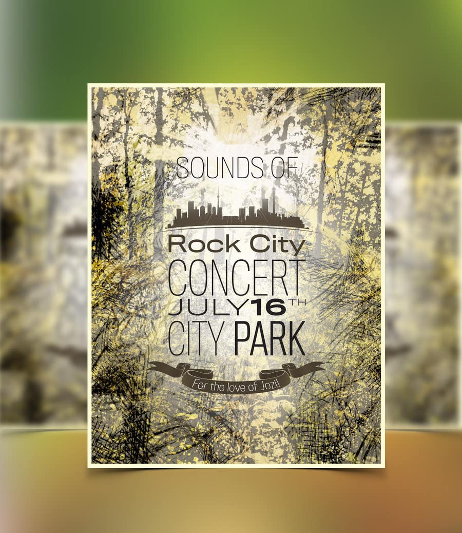 Kilpailutyö #83 kilpailussa I need some Graphic Design for Rock City