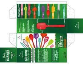 #5 cho Colour Box Design for Multicolour Silicone Kitchen Utensils bởi isurueranga