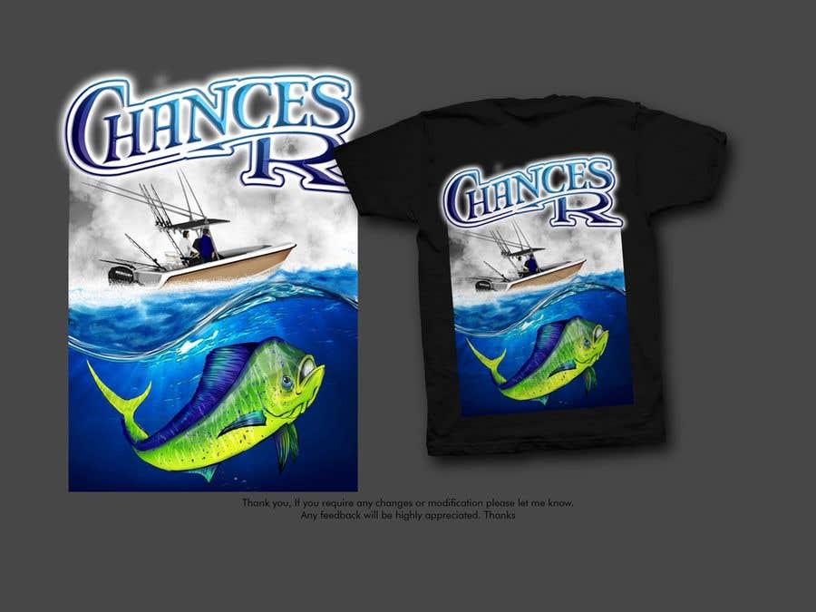 Kilpailutyö #                                        76                                      kilpailussa                                         Boat + Fishing Shirt Design