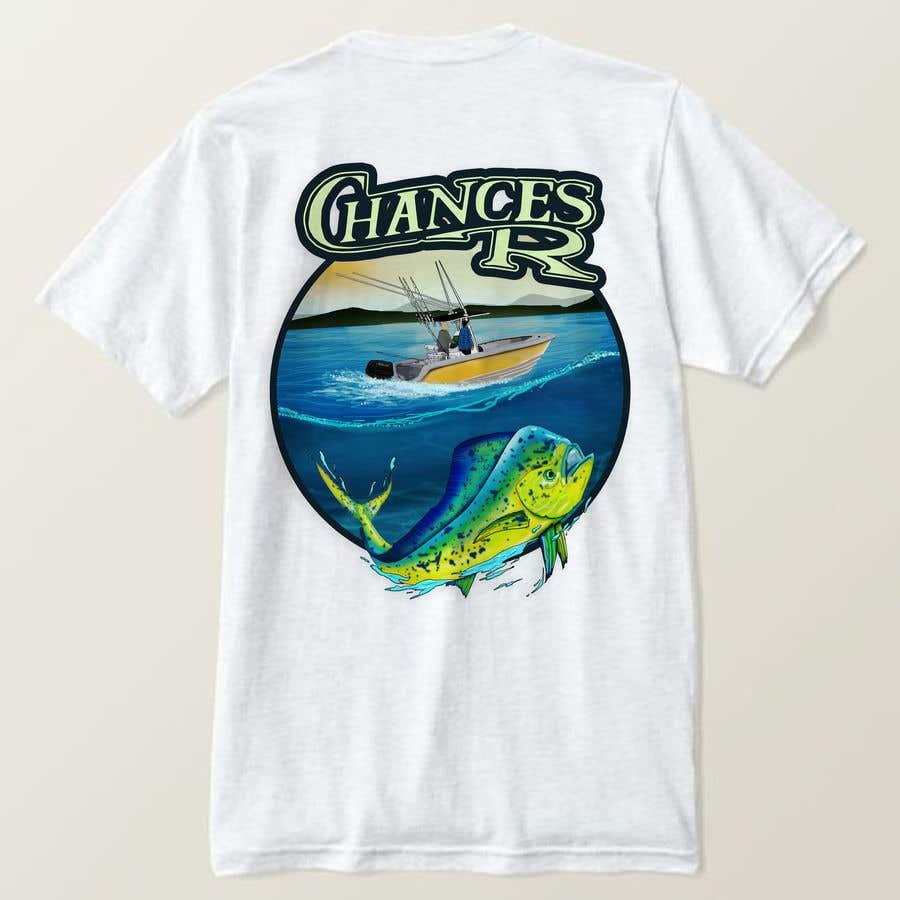Kilpailutyö #                                        66                                      kilpailussa                                         Boat + Fishing Shirt Design