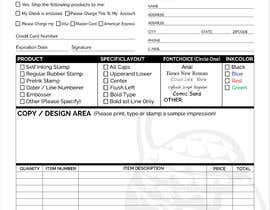 #16 for Redesign a PDF Order Form by clickgraphicsbd