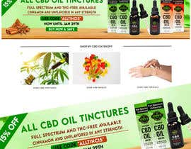#44 for Sale Banner for Eden's Herbals 15% Off Tinctures by osimakram120