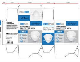 #88 untuk Product Package Design for Face Masks oleh nurcreation1