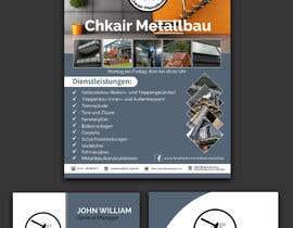 Nro 32 kilpailuun I need a business card and a flyer for a client. käyttäjältä jahidmal01