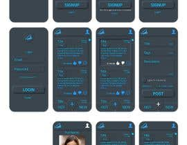 #14 for Design 4 mobile app screens by harshasalim