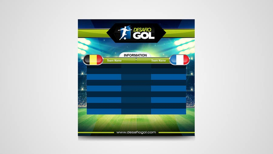 Proposition n°7 du concours Identity for Football (Soccer) Fantasy Game in Social Media