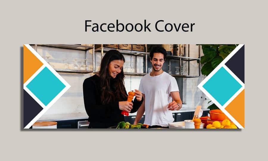 Kilpailutyö #                                        104                                      kilpailussa                                         Looking for an emotive Facebook cover design for a business page