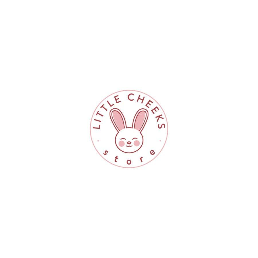 Kilpailutyö #                                        59                                      kilpailussa                                         The store name: Little cheeks. It's a store for kids (selling clothing and accessories for kids) I would like to a have a logo with bright colors, kids illustrations with store name)