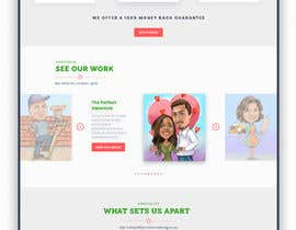 #35 untuk Landing Page Needed For Online Caricature Website oleh NahianShanto