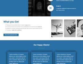 #31 untuk Landing Page Needed For Online Caricature Website oleh hosnearasharif