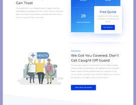 #32 untuk Landing Page Needed For Online Caricature Website oleh sharifkaiser