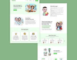 #27 untuk Landing Page Needed For Online Caricature Website oleh maftuhlutfi