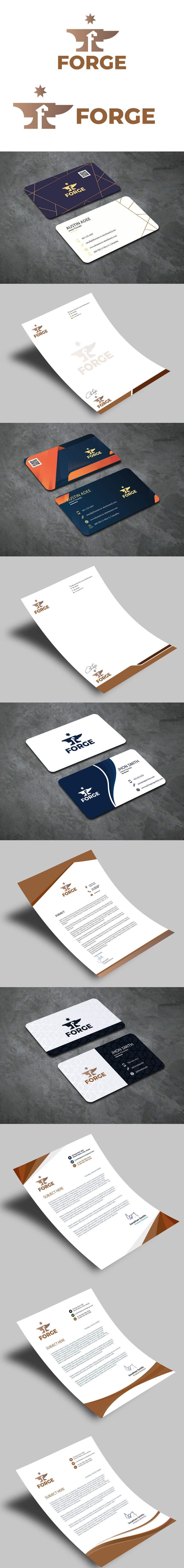 Penyertaan Peraduan #                                        125                                      untuk                                         Design a logo + Business Card + Letterhead + Branding + Social Media etc. (Gaming, Hosting, Panel, Dashboard, Product)