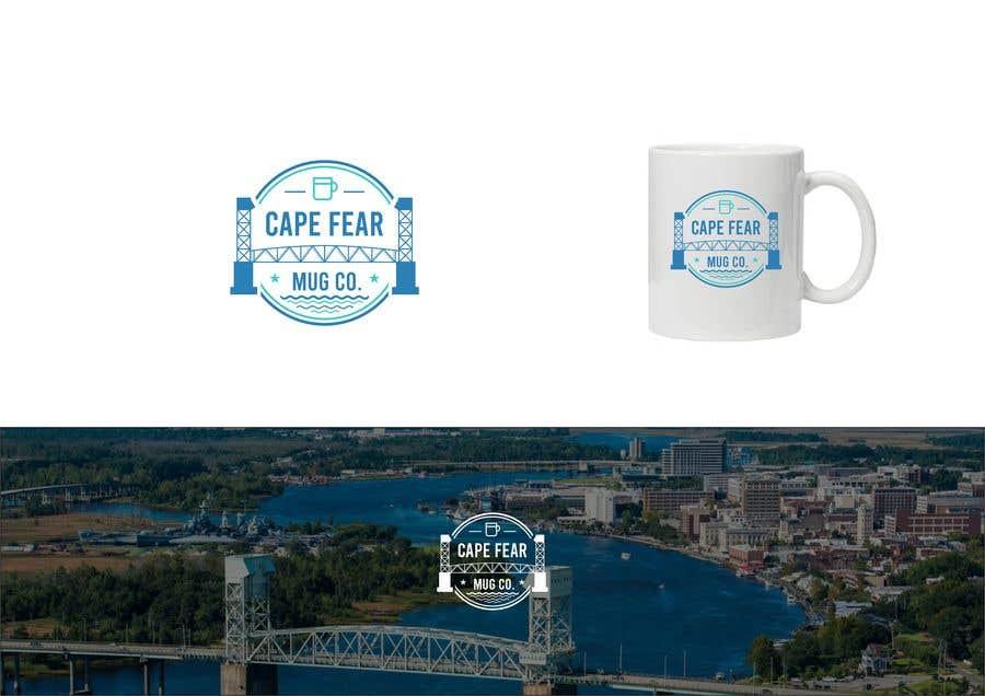 Inscrição nº                                         128                                      do Concurso para                                         Logo Creation - Cape Fear Mug Co.