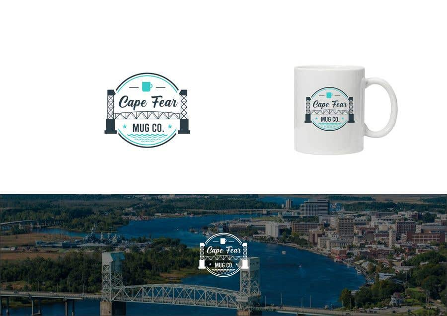 Bài tham dự cuộc thi #                                        132                                      cho                                         Logo Creation - Cape Fear Mug Co.