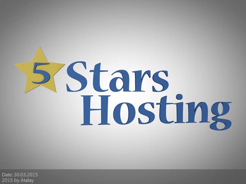 Bài tham dự cuộc thi #8 cho Design a Logo for 5Stars Hosting