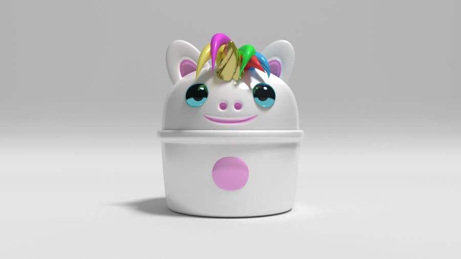 Konkurrenceindlæg #                                        9                                      for                                         Product Design Mock-up - Unicorn Ceramic Bowl