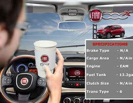 #1 para Design an Advertisement for Fiat 500x heated steering wheel de rginfosystems