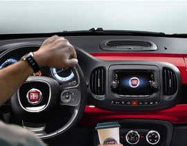 #8 para Design an Advertisement for Fiat 500x heated steering wheel de codigoccafe