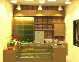 #25 cho Small shop interior design with 3D bởi pritomtopu777