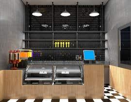 Nro 17 kilpailuun Small shop interior design with 3D käyttäjältä karinasilvaarqui