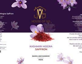 #2 for Brand design for the product container/package - Saffron Threads by balganeshtondanm