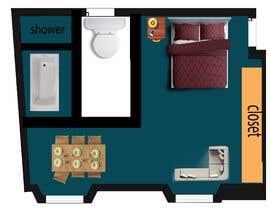 #84 cho Design my bedroom bởi abdurrahmanjim77