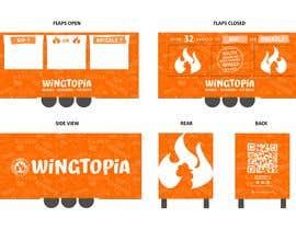 #30 for Food Van Design for Fast Food Restaurant af masooma008