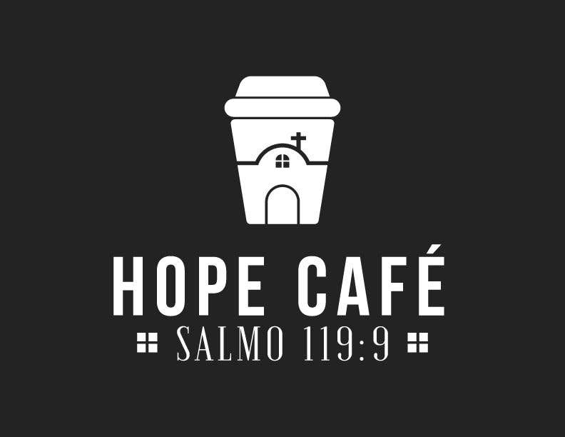 Proposition n°                                        52                                      du concours                                         LOGO / HOPE CAFE