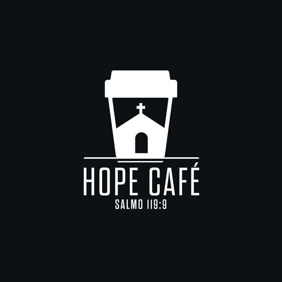 Proposition n°                                        48                                      du concours                                         LOGO / HOPE CAFE