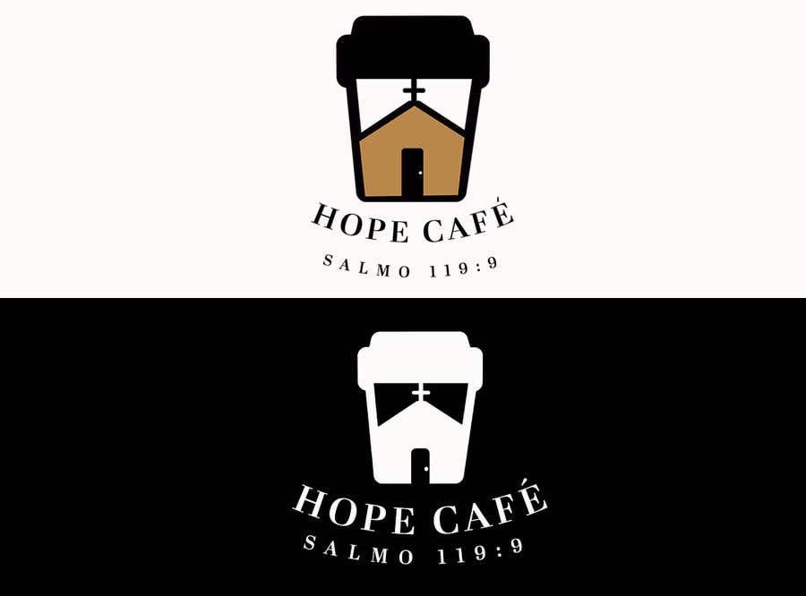 Proposition n°                                        55                                      du concours                                         LOGO / HOPE CAFE