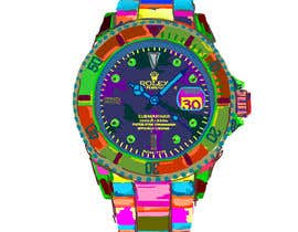 #7 cho Artistic Crazy Edge On Watch Face bởi nonie26